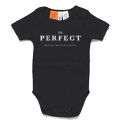 Mr. Perfect Classic Baby/Toddler Onesie Black