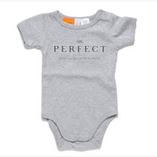 Mr. Perfect Classic Baby/Toddler Onesie Grey