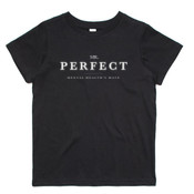 Mr. Perfect Classic Kids Tee Black