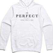 Mr. Perfect Classic Hoodie White