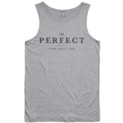 Mr Perfect Classic Singlet Grey