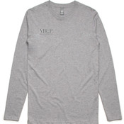 Mr. Perfect Classic Long-Sleeve Tee Grey